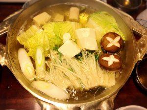 【新宿駅】はじめての「かに道楽」贅沢な蟹三昧大満足ううう!のかにしゃぶ会席冬景色のかにしゃぶ二種盛の鍋