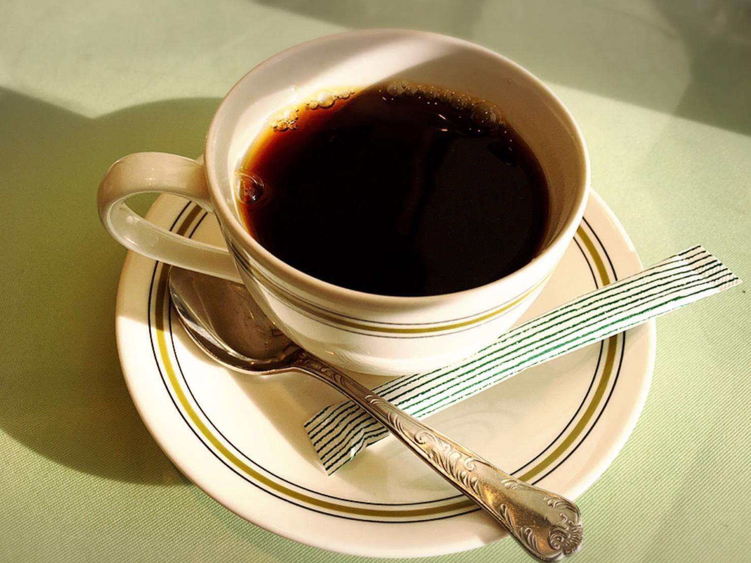 【池袋駅】創業大正9年。池袋の堂々たる名店で昔懐かし本格洋食を味わう「タカセ 池袋本店」の食後のコーヒー