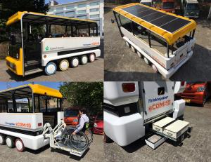 電気バスは低速電動ビークル eCOM-10