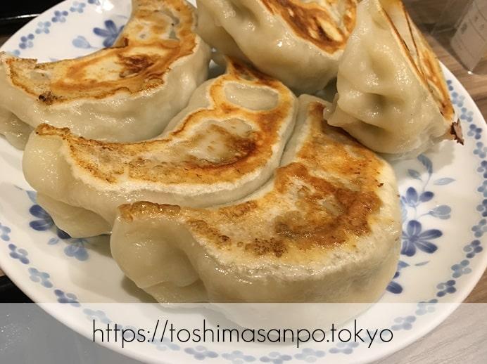 【池袋駅】餃子ファンがうなる特大激うま餃子とジャパン中華が安定の美味しさ!「開楽」