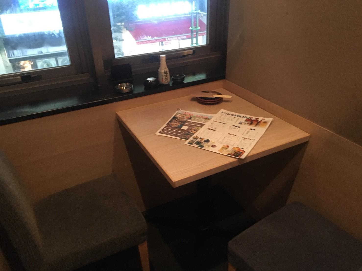 【池袋駅】落ち着いた少人数個室が使いやすい!九州料理もクオリティ高めの「TORI魚 池袋本店」の個室1