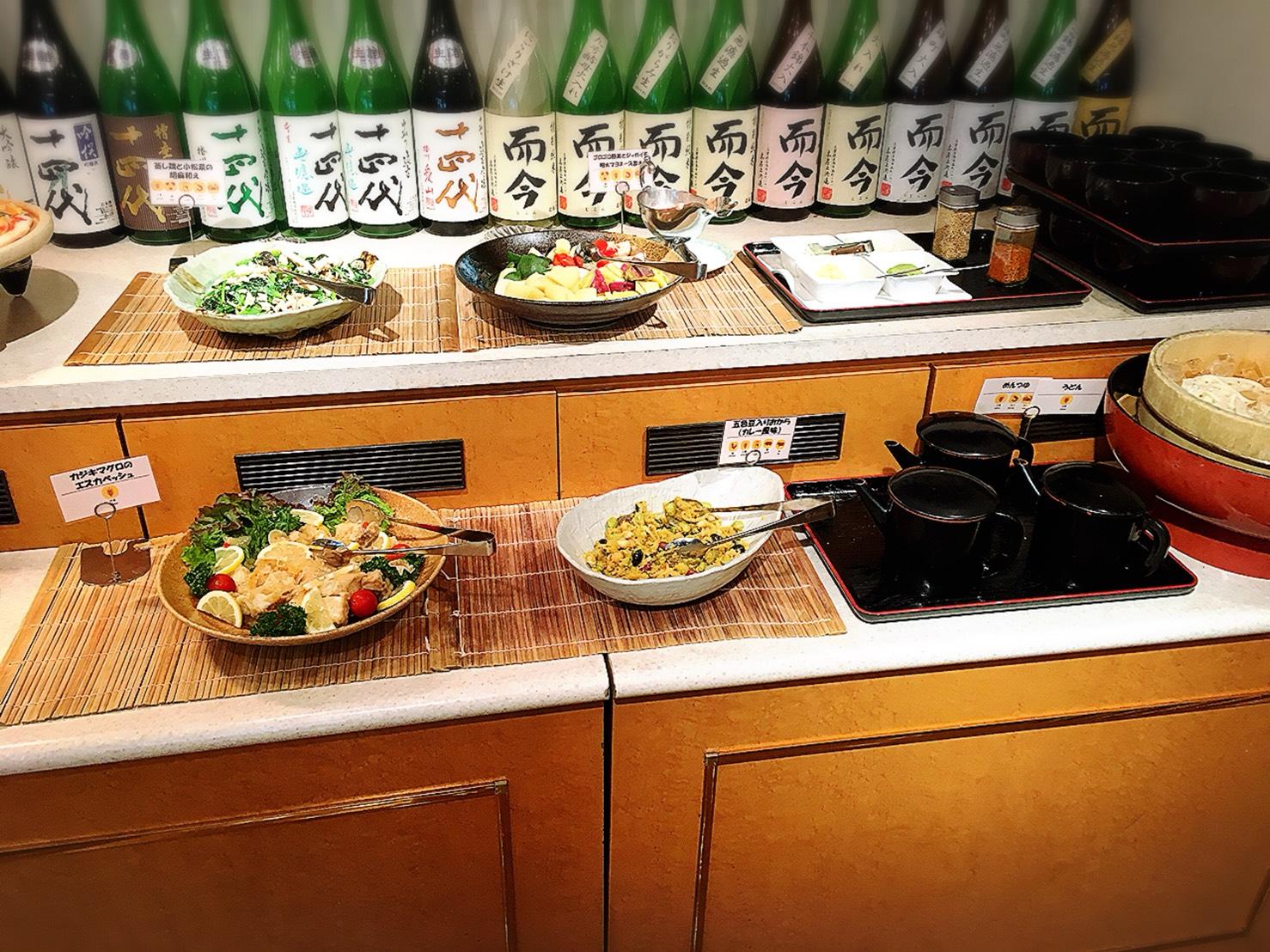 【池袋駅】安くて美味しい超人気ビュッフェ!池袋最強コスパ!?第一イン池袋レストラン「ピノ」のランチビュッフェ2