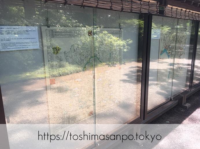 【駒込駅】歴史を学ぶいい日にしよう。和歌山市を模した江戸時代の庭園「六義園」で涼をとろう。の六義園の展示物5