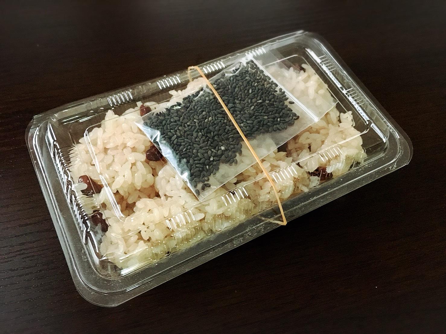 【大塚駅】もなか屋さん「千成もなか本舗」の200円のパンケーキのお赤飯