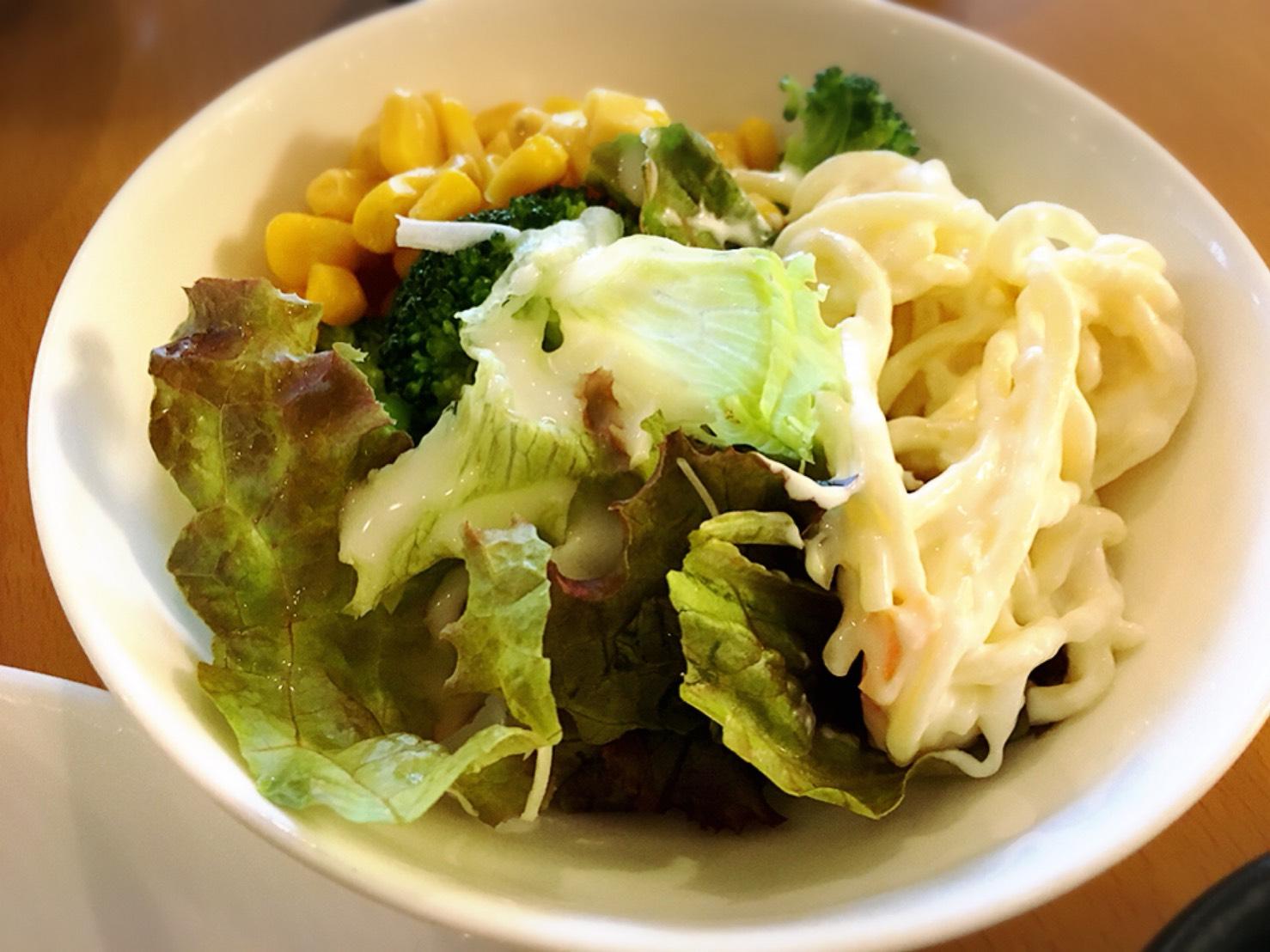 【池袋駅】モーニングビュッフェも最強だったレストラン「ピノ」のサラダ