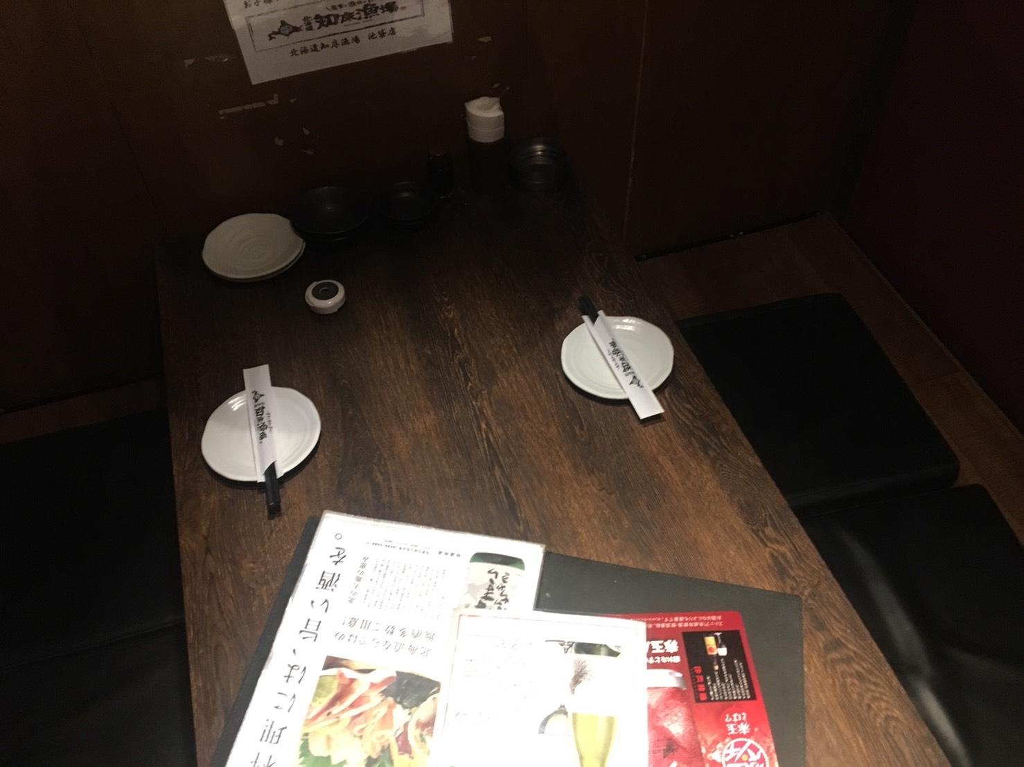 【池袋駅】いくらこぼれ丼を求めて「北海道知床漁場」の個室