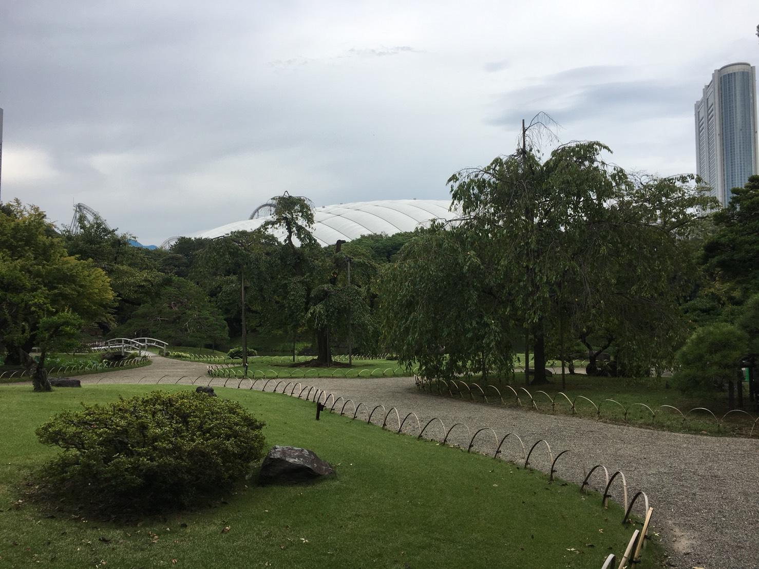 【飯田橋駅】江戸時代の中国趣味豊かな景観で一句「小石川後楽園」の小石川後楽園の庭園1