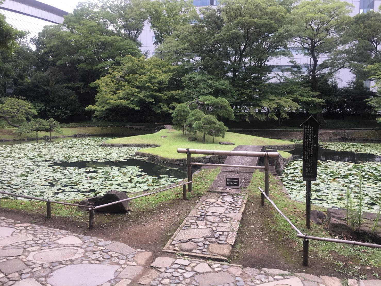 【飯田橋駅】江戸時代の中国趣味豊かな景観で一句「小石川後楽園」の内庭1