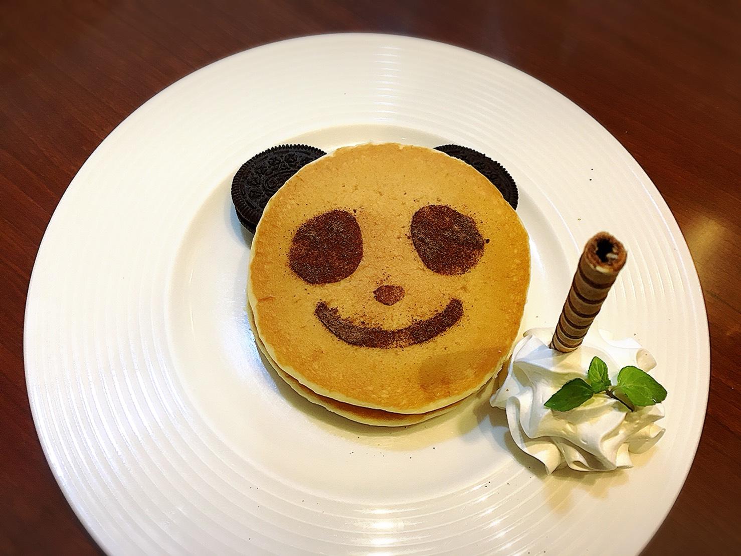 【上野駅】上野と言えば!パンダ記念に「じゅらく」で洋食とパンダパンケーキ