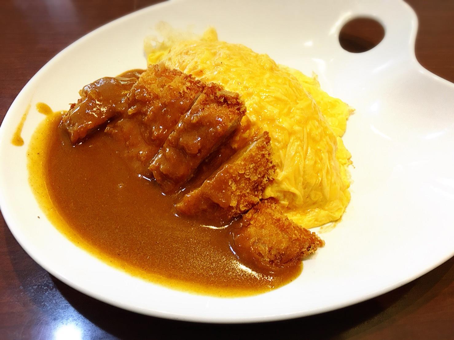 【上野駅】上野と言えば!の「じゅらく」で洋食とパンダパンケーキのじゅらくのオムカツカレー