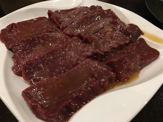 【池袋駅】最強クラスの焼肉発見!やみつき間違いなしの「和牛焼肉バルKURAMOTOクラモト」の追記3:角切りレバー