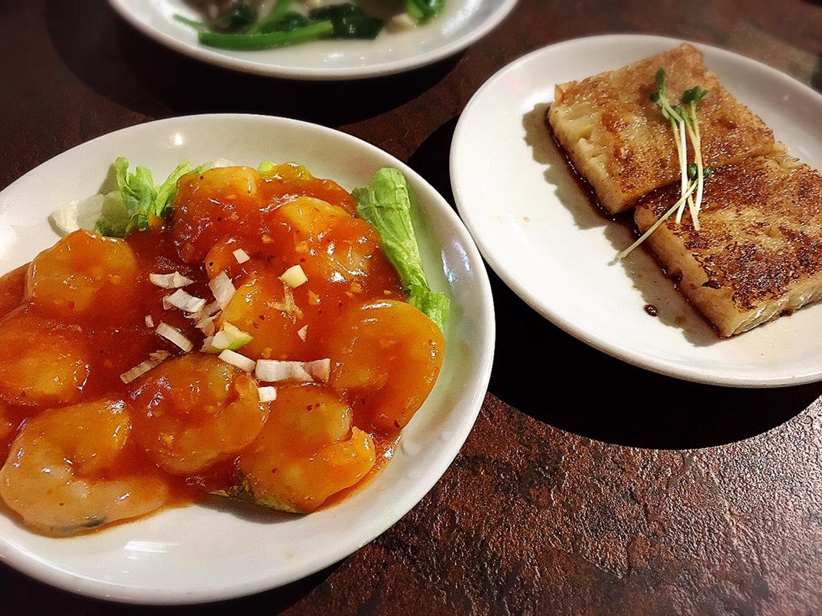【池袋駅】飲茶専門店で中国・台湾料理が食べ放題2500円「 中国茶館」のエビチリと大根もち