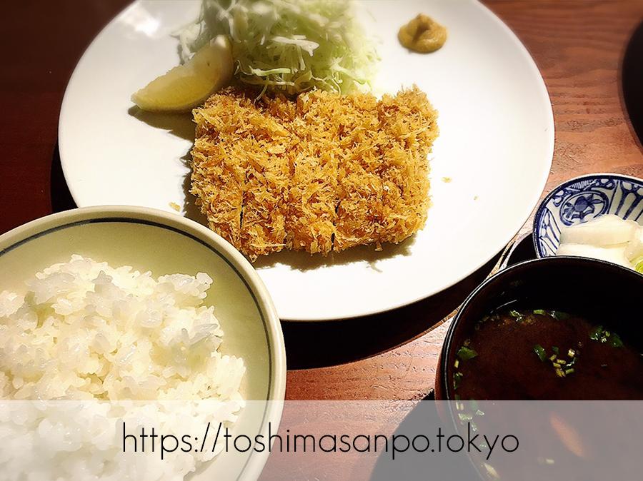 【淡路町駅】ミシュラン掲載!こだわりとんかつの老舗「勝漫」のヒレかつ定食