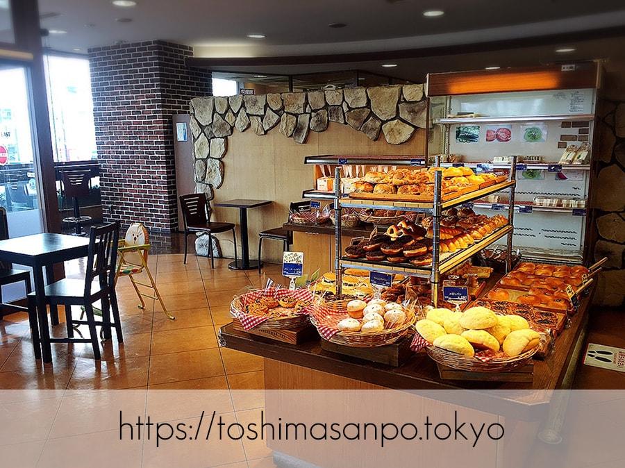 【大塚駅】美味しいパンと憩いの時間「EAST YEAST(イーストイースト)」の店内2