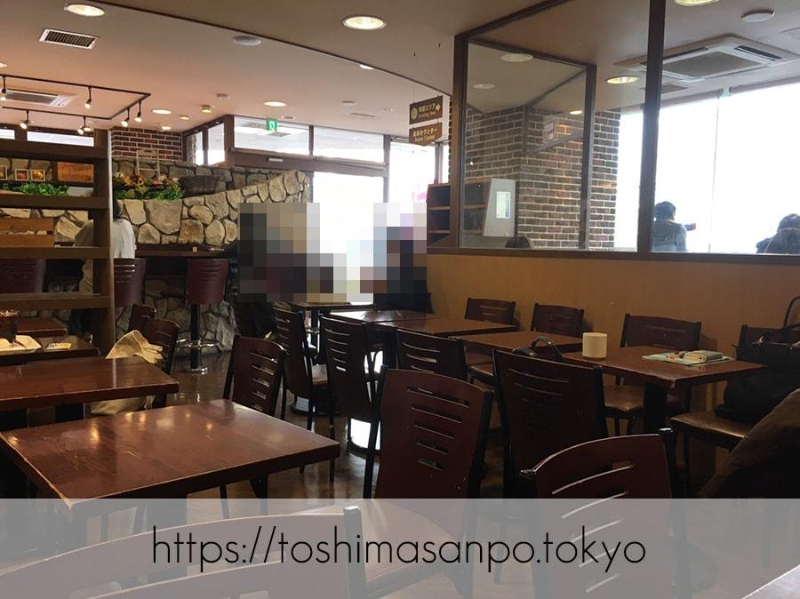 【大塚駅】美味しいパンと憩いの時間「EAST YEAST(イーストイースト)」のカフェスペース
