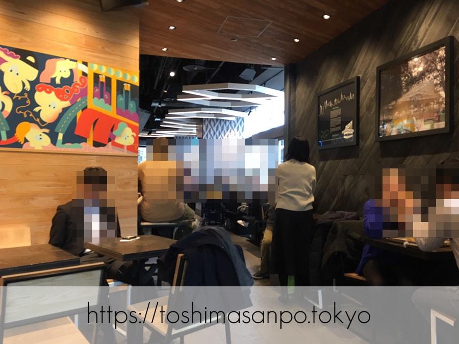 【新宿駅】豊島区へ出店熱望!NY発ハンバーガー「シェイクシャック」の店内