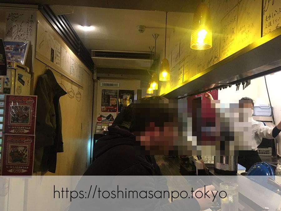 【大塚駅】ランキングに名を連ねる名店!多種も魅力な「志奈そば 田なか」の店内1