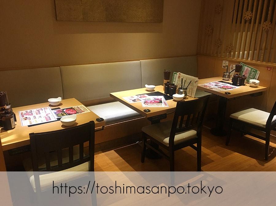 【池袋駅】これは事件だ!日本人は美味しいごはんを食べるべき。しゃぶしゃぶビュッフェ「 しゃぶ菜」の店内2