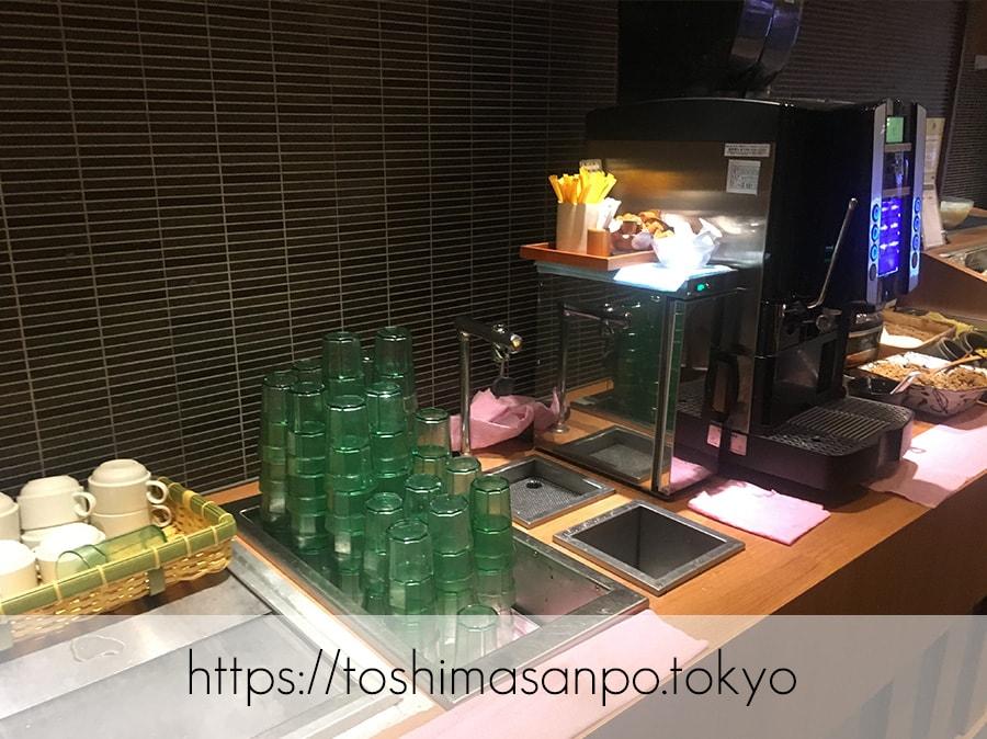 【池袋駅】これは事件だ!日本人は美味しいごはんを食べるべき。しゃぶしゃぶビュッフェ「 しゃぶ菜」のドリンクバー