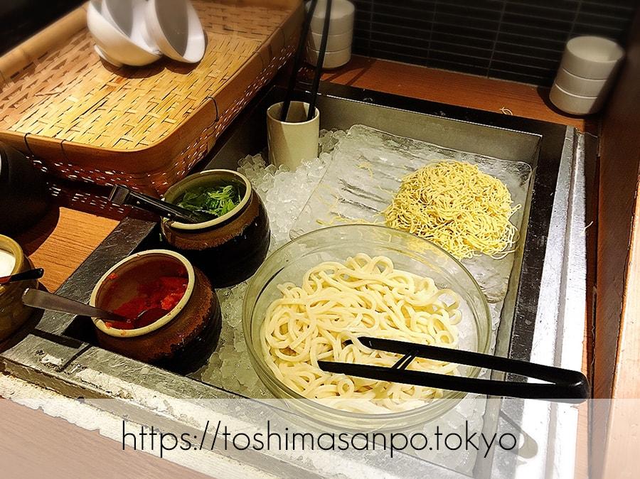 【池袋駅】これは事件だ!日本人は美味しいごはんを食べるべき。しゃぶしゃぶビュッフェ「 しゃぶ菜」の麺類ビュッフェ