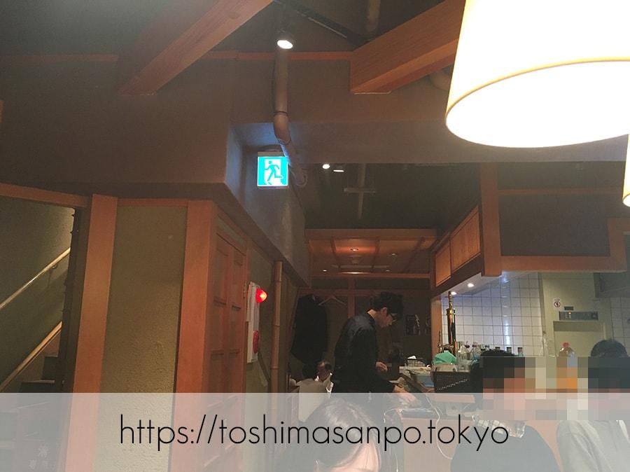 【池袋駅】高コスパ!ずっと人気爆発してる!超お得にお魚食べられる「東池袋魚金」の店内2