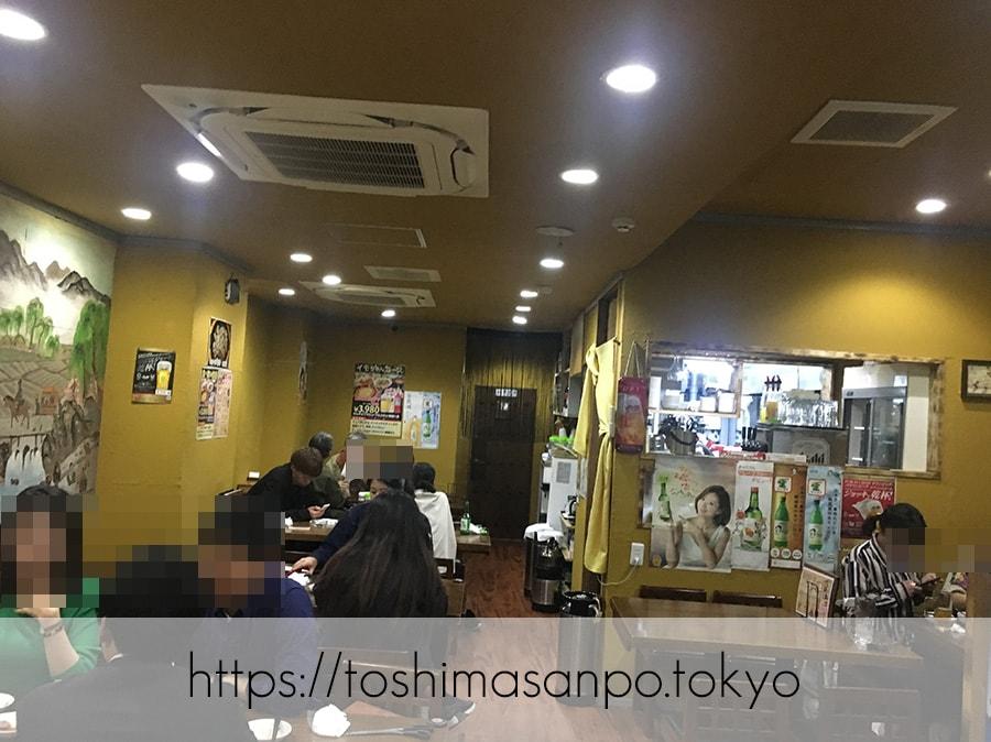 【池袋駅】気軽に手軽に安く韓国家庭料理が楽しめる「イモチャン」ニラチヂミがナイス!の店内