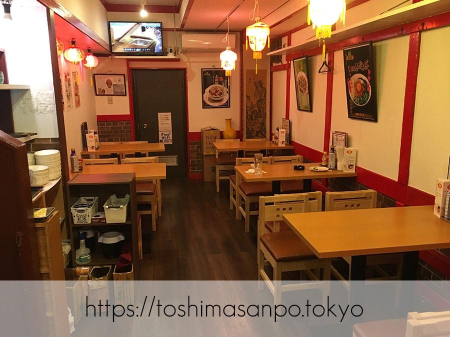 【大塚駅】超あったかな店主が迎えてくれるコスパ高めの台湾系な中華料理居酒屋「福文酒家」の店内