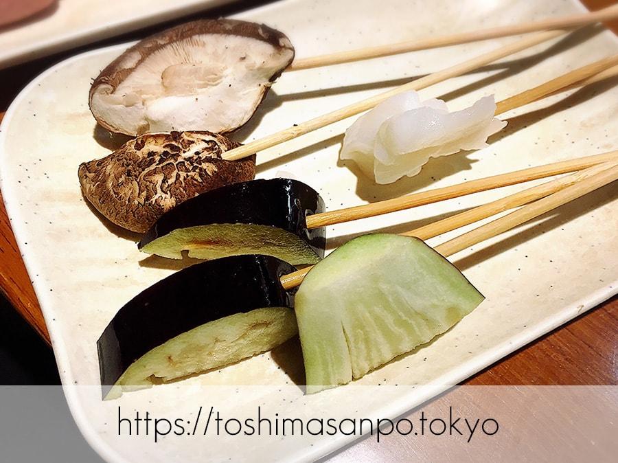 【池袋駅】なにこれ楽しい!みんなで行こうよ、自分で揚げる串揚げの食べ放題「串家物語 LABI1池袋店」の串4