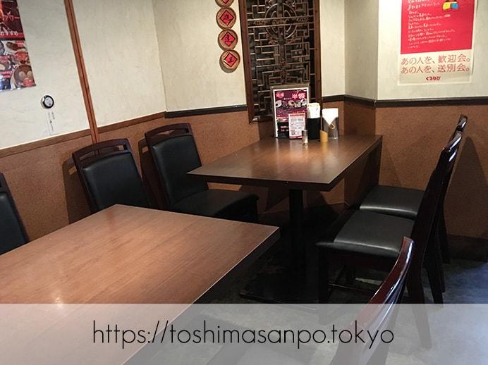 【池袋駅】池袋駅周辺の最安ビュッフェ!台湾料理・中華料理を大量摂取するには「台北夜市 池袋本店」のテーブル