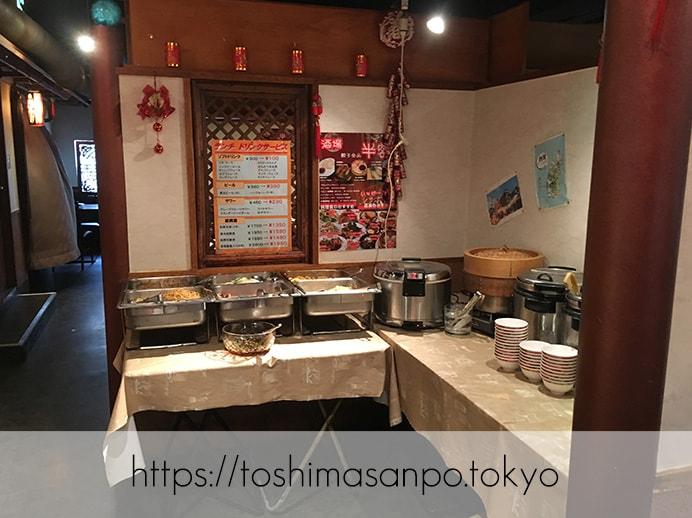 【池袋駅】池袋駅周辺の最安ビュッフェ!台湾料理・中華料理を大量摂取するには「台北夜市 池袋本店」のビュッフェ2