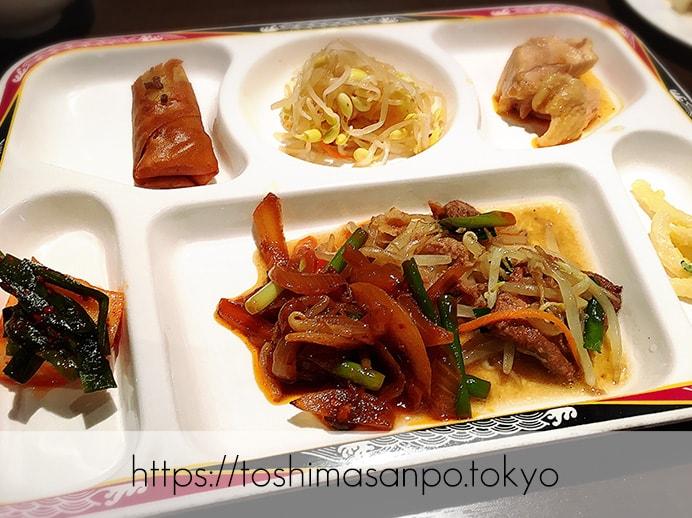 【池袋駅】池袋駅周辺の最安ビュッフェ!台湾料理・中華料理を大量摂取するには「台北夜市 池袋本店」の料理1