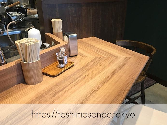 【大塚駅】6月1日開店!新潟の生姜醤油ラーメンが上品でうっとし美味しい。オシャレラーメン屋「Nii」の店内2