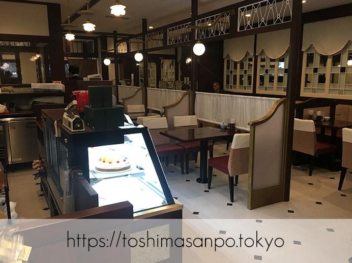 【池袋駅】ハイマート跡に「椿屋カフェ」オープン!クレミア生クリームソフトが食べられるう〜♡の店内