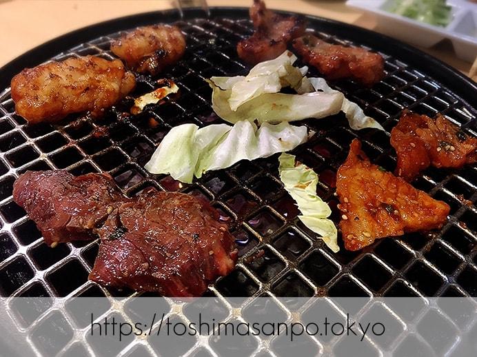 【新宿駅】なにこの初体験チーズキムチチヂミ!極上お肉も激安激うま!牛タンなど激人気店「韓感」の焼肉2