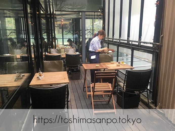 【新宿駅】いい雰囲気イタリアンランチするなら超おすすめ「オッティモ・シーフード・ガーデン」の店内2