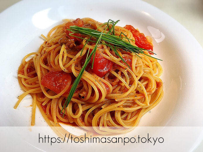 【新宿駅】いい雰囲気イタリアンランチするなら超おすすめ「オッティモ・シーフード・ガーデン」の生ウニのスパゲティーニ
