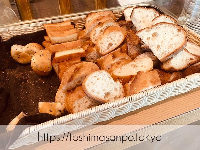【池袋駅】1,000円ポッキリでパン食べ放題ランチ!カジュアルオシャレ「ブルーオーシャングリル」のパンビュッフェ