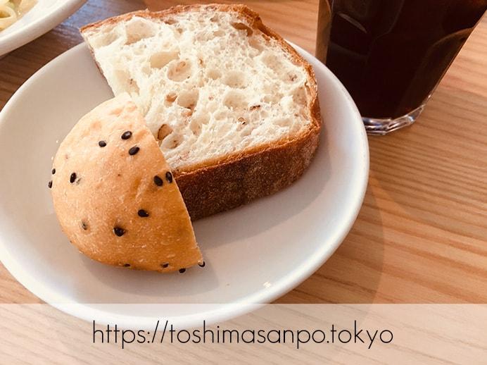 【池袋駅】1,000円ポッキリでパン食べ放題ランチ!カジュアルオシャレ「ブルーオーシャングリル」のパンビュッフェのパン