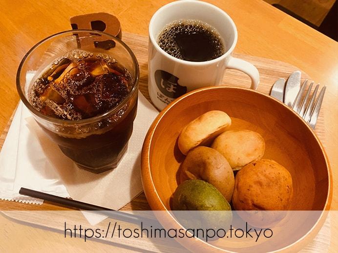 【池袋駅】タピオカ粉の創作パンはもちもち食感。意外とめっちゃお腹いっぱいに!「ぽんでCOFFEE」のランチ