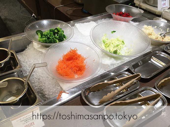 【池袋駅】サンシャインシティプリンスホテルのビュッフェ知ってる?気兼ねなく入れる「レストラン バイエルン」のビュッフェ4