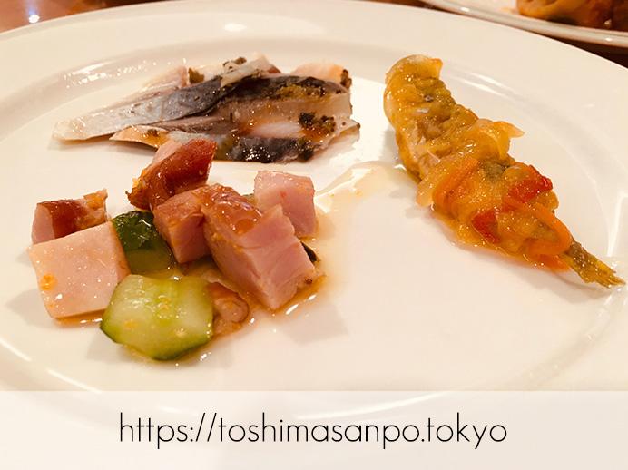 【池袋駅】サンシャインシティプリンスホテルのビュッフェ知ってる?気兼ねなく入れる「レストラン バイエルン」の料理4